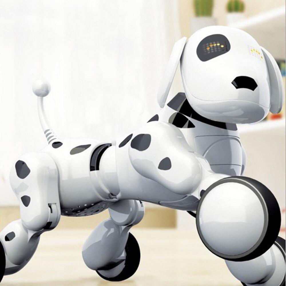 Perro Robot perro Digital mascota música Robot inteligente 2,4G Control remoto inalámbrico juguetes electrónicos juguetes parlantes regalo educativo chico