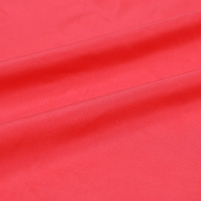 5edd74cd9842c US $38.8  Fresh watermelon red color in Europe and America advanced  silkworm silk fabric silk double Palace meager skinny cloth-in Fabric from  Home & ...