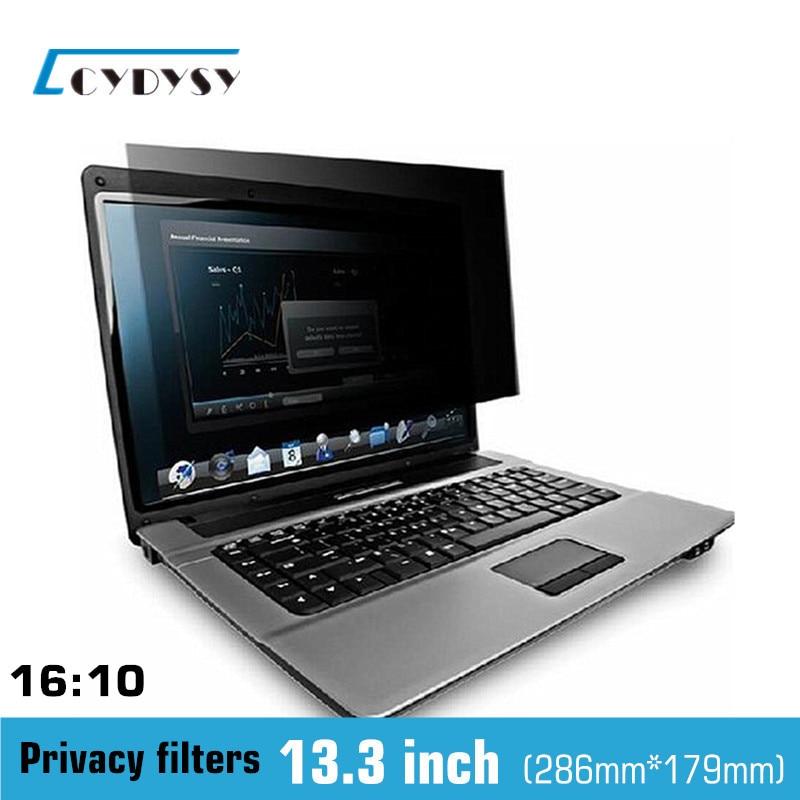 <font><b>13</b></font>.3 inch Anti-glare <font><b>Privacy</b></font> <font><b>Filter</b></font> <font><b>Laptop</b></font> Screen Protector film for <font><b>MacBook</b></font> <font><b>Air</b></font> /Pro 16:10 Notebook 286mm*197mm