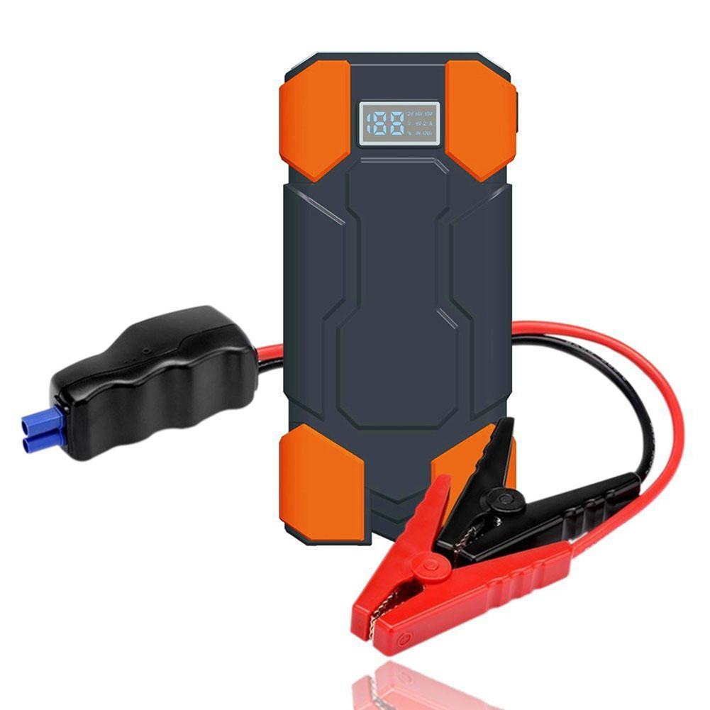 18000mAh 12V Car Jump Starter Emergency Starting Device Portable 2USB SOS Light Mobile Power Bank Car Charger