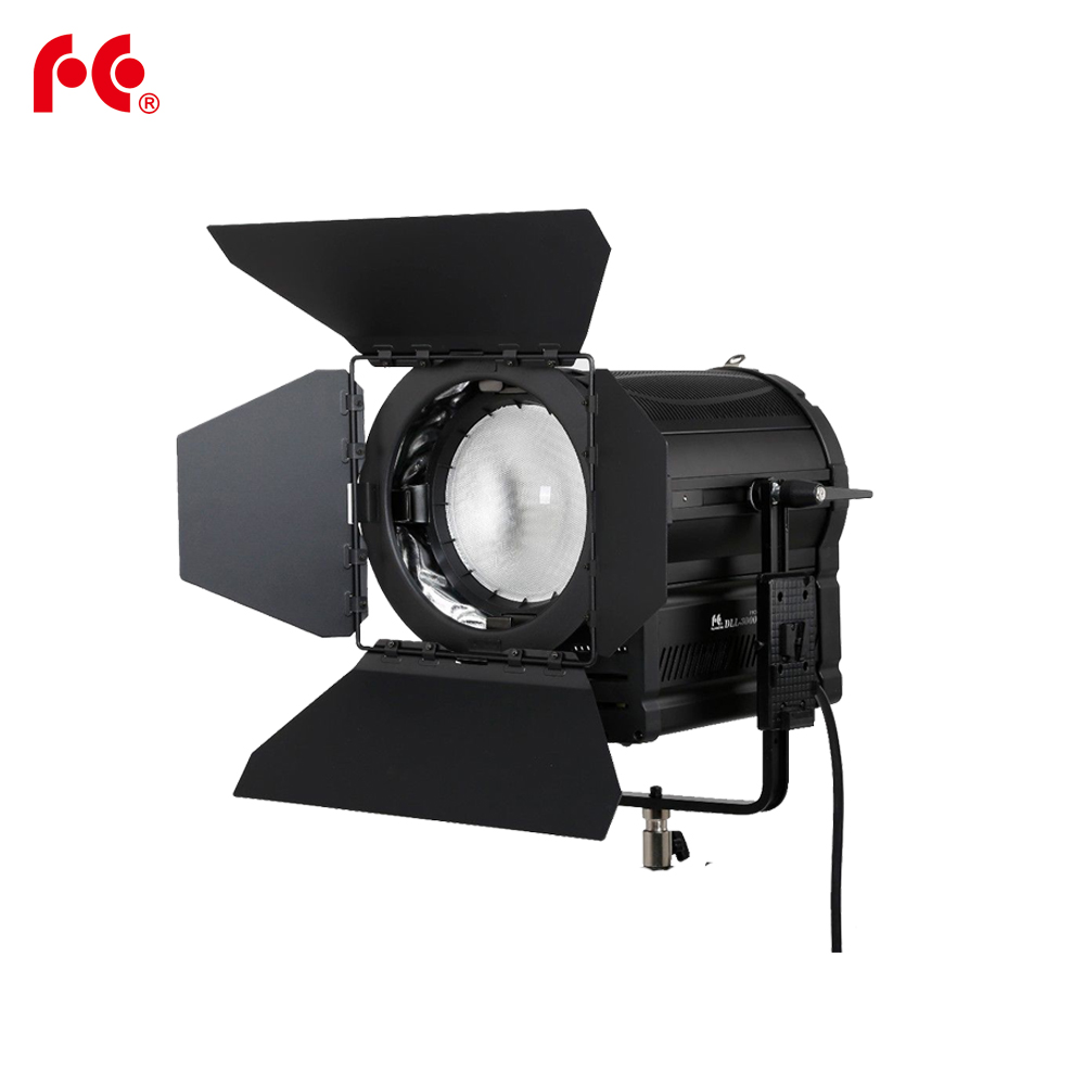 Falcon Eyes 300W LED Fresnel Light DLL-3000TDX Ra95 3000K-8000K DMX V-lock Plate осветитель falcon eyes lhpat 15 1