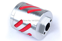 CNC metal air filter assembly for 1/5 HPI baja 5b KM ROVAN CNC air filter for 26cc 29cc engine
