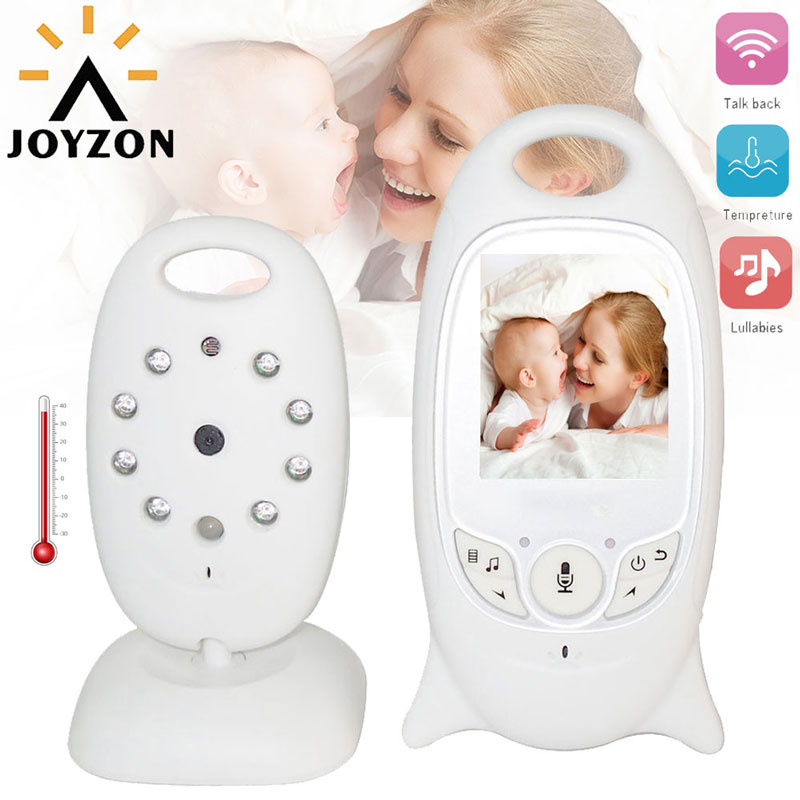 Wireless Video Baby Monitor with Camera Audio Security Camera 2 Way Talk IR Night Vision Temperature