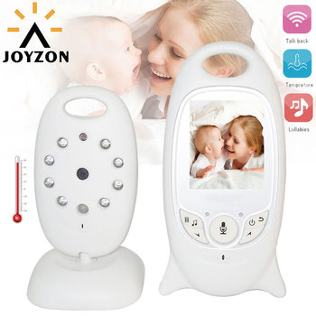 цена на Wireless Video Baby Monitor with Camera Audio Security Camera 2 Way Talk IR Night Vision Temperature Monitoring with 8 Lullabies