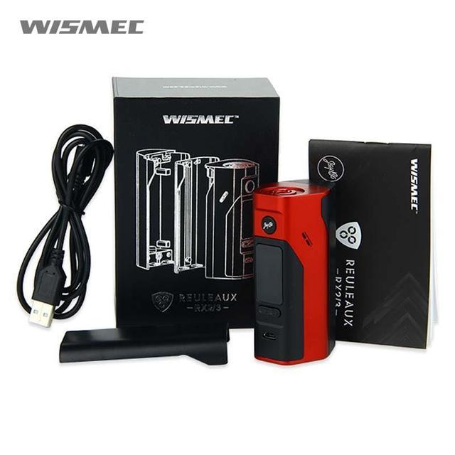 Электронная сигарета WISMEC RX2/3 MOD kit для аккумуляторов 18650 Рел RX 2/3 распродажа