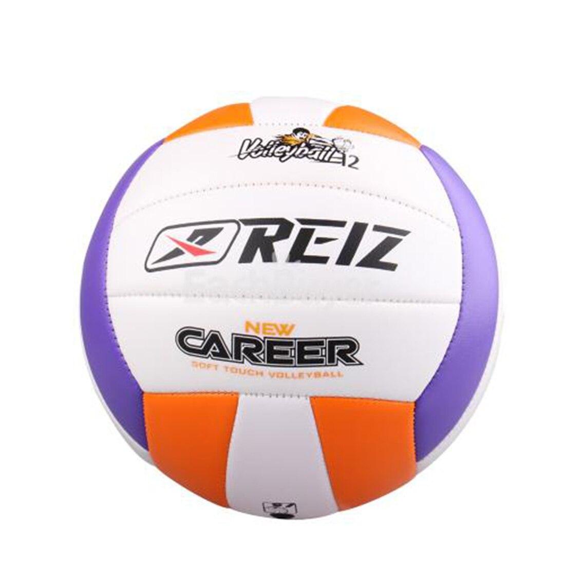 Venta caliente Soft Touch Volleyball Ball Tamaño 5 partido calidad Voleibol Pelota de entrenamiento interior y exterior con bolsa de red + boca de aire