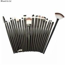 21 pcs Makeup Brush Set tools Make-up Toiletry Kit Wool Make Up Brush Set Free Shipping