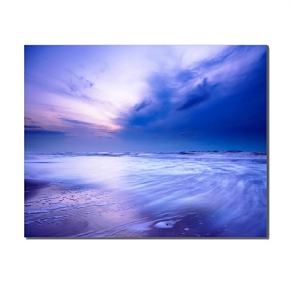 Laeacco Canvas Painting Calligraphy Abstract Wall Art Sunshine Sea Sky Posters and Prints Home Living Room Kitchen Decoration in Painting Calligraphy from Home Garden