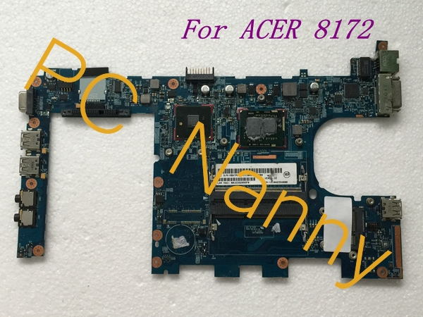 ФОТО For Acer Travelmate 8172 Laptop INTEL Motherboard With i3-380UM HM55 MBWTP0B001 6050A2350201 - Good