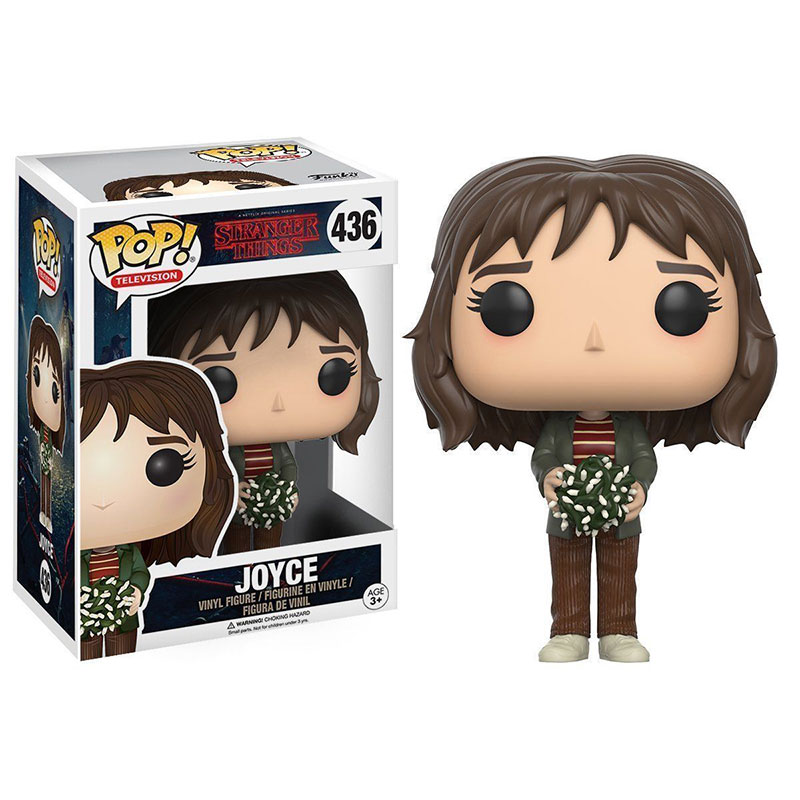 Funko pop Official TV: Stranger Things - Joyce in Lights Vinyl Action Figure Collectible Model Toy with Original Box  funko pop official spider man homecoming spiderman new suit vinyl action figure collectible model toy with original box