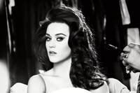 Katy Perry Dark Horse Sexy Music Singer Poster Fabric Silk Black And White Posters And Prints