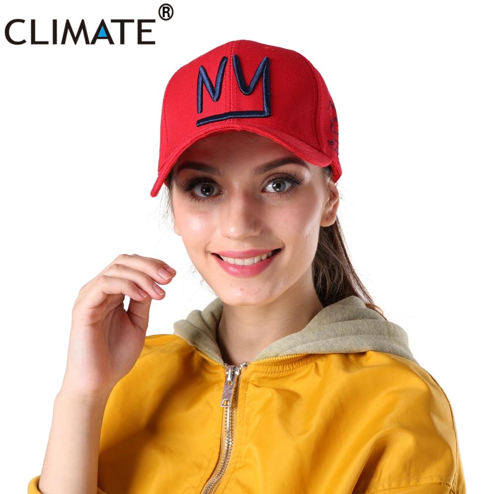 CLIMATE 2018 Unisex Youth Men Women Cool NY New York Skull Baseball Caps NY City 3D Logo ...