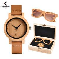 BOBO BIRD Luxury Women Watches Sunglasses Suit Present Box Gift Set for Ladies relogio feminino Accept Logo Drop Shipping