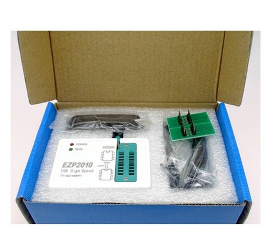 1set EZP2010 high-speed SPI FLASH programmer 24/25/93 BIOS 25T80 burn  offline replication #Hbm0093