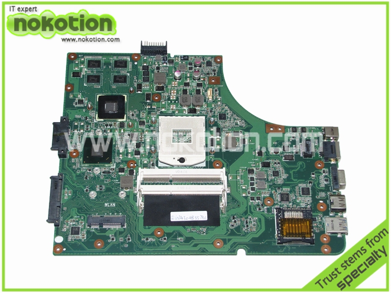 for ASUS K53SD MAIN BOARD rev 5.1 Laptop Motherboard intel HM65 NVIDIA GeForce GT610M graphics DDR3 full tested laptop motherboard for asus n43sl n43sl rev 2 0 hm65 nvidia n12p gt a1 ddr3