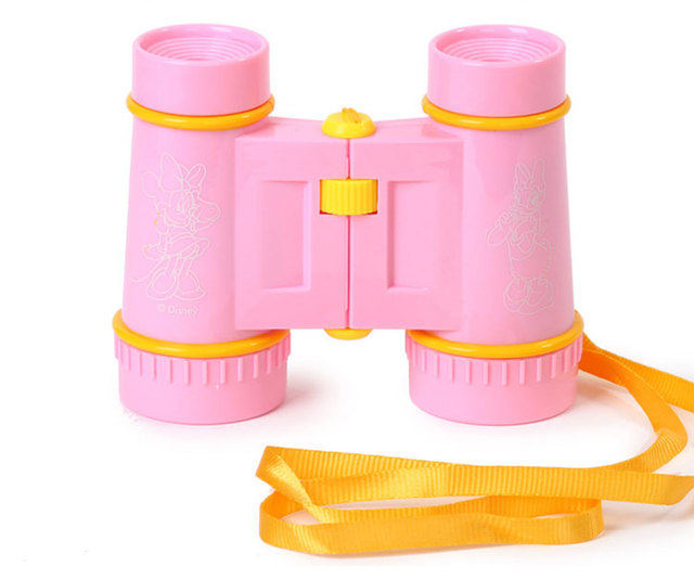 Cartoon adjustable folding telescope young children toy gift science experimental study gift item