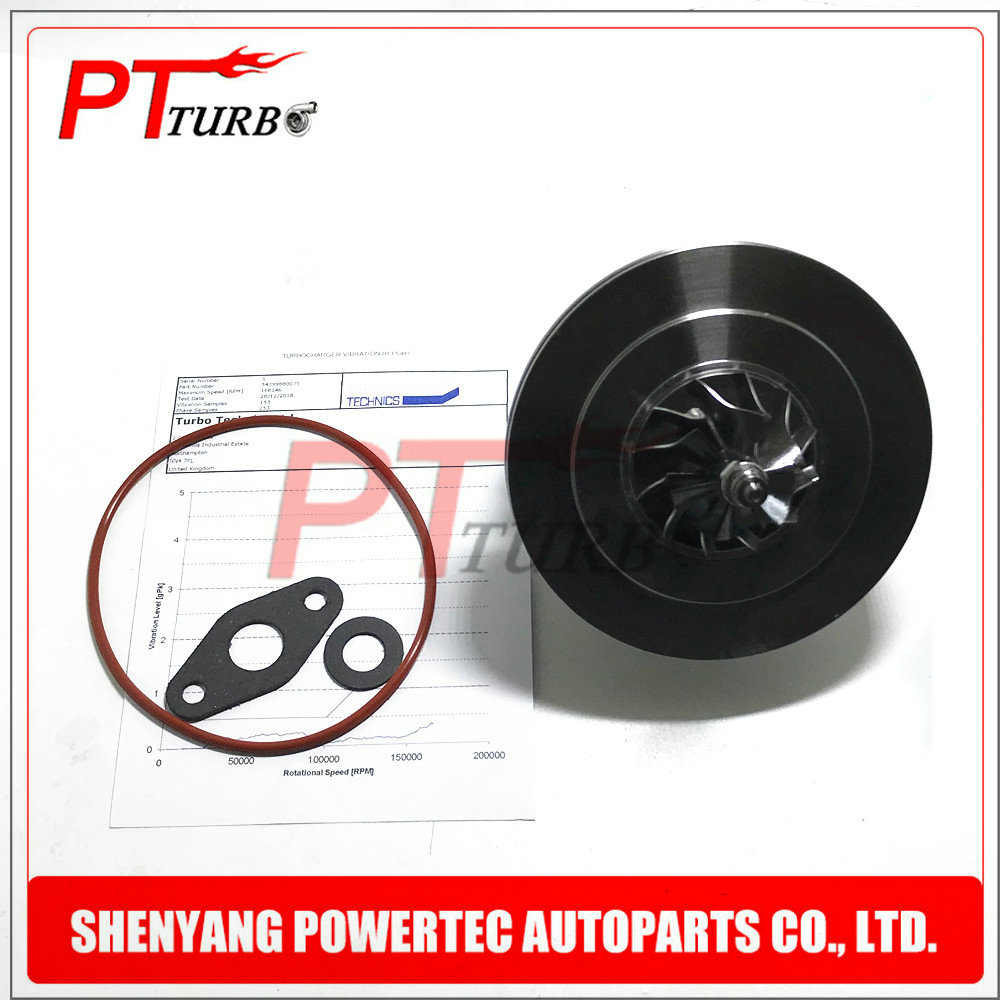 Turbocharger core 54399880075 for Mercedes 220 <font><b>129</b></font> <font><b>HP</b></font> 95 Kw 2.2CDI OM651DE22LA - cartridge turbine 54399700099 CHRA repair kits image