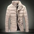 winter jacket men 2017 new parka coat stand collar men jackets jaqueta masculina High quality warm overcoat