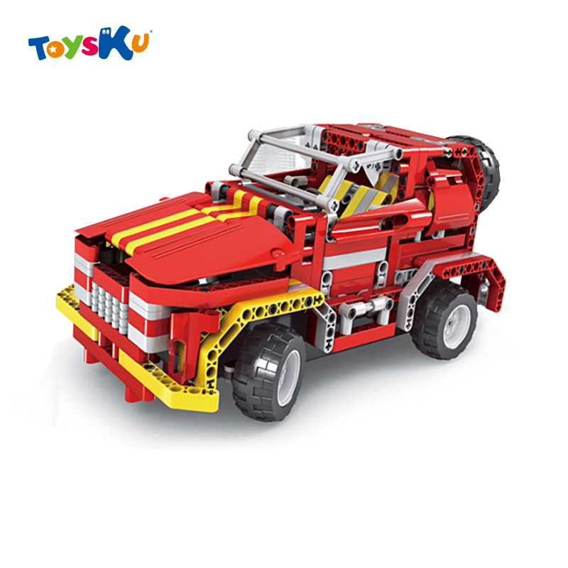 ФОТО New Remote Control Assembly Car Wireless Remote Control Buiding Blocks Toy Children Educational Toy
