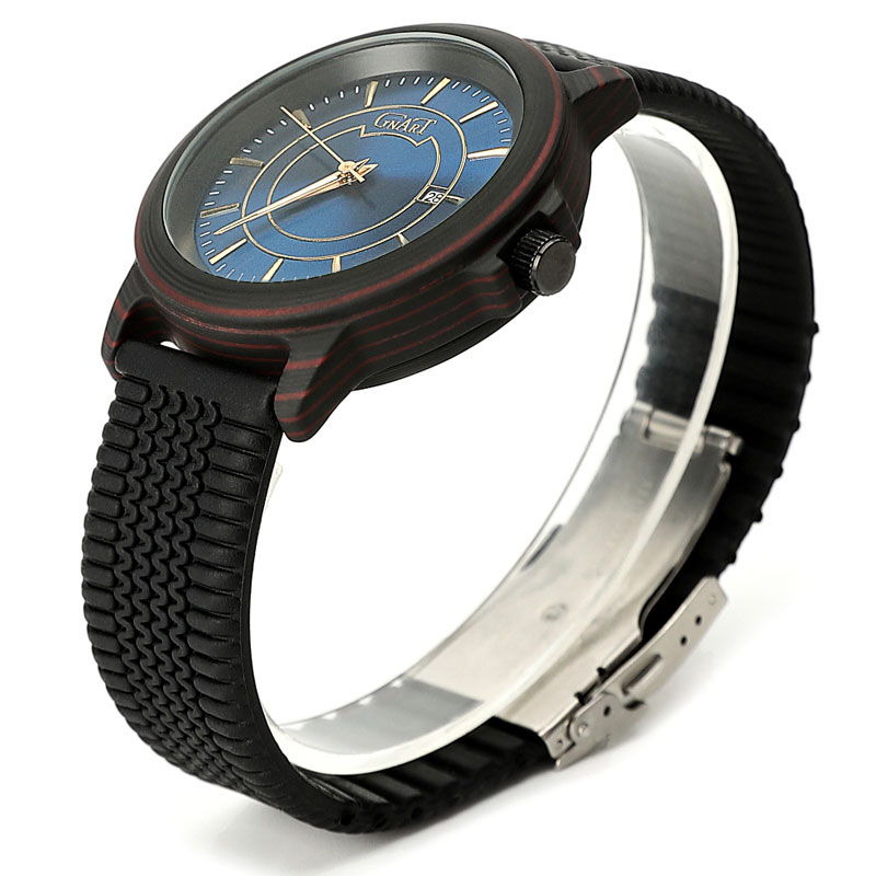 Роскошные брендовые Мужские Аналоговые кожаные спортивные часы, мужские армейские военные часы, мужские кварцевые часы с датой, мужские ча... - 4