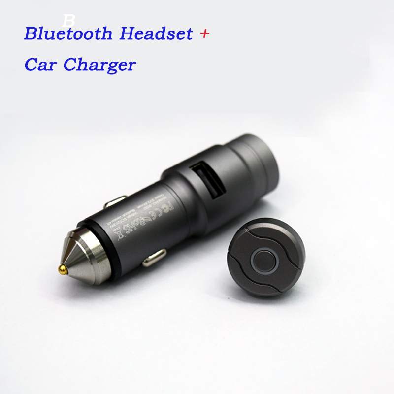 Wireless Mini Bluetooth Earphone  USB Car Charger Fast charging Car Adapter Headset Bluetooth earphones remax 2 in1 mini bluetooth 4 0 headphones usb car charger dock wireless car headset bluetooth earphone for iphone 7 6s android