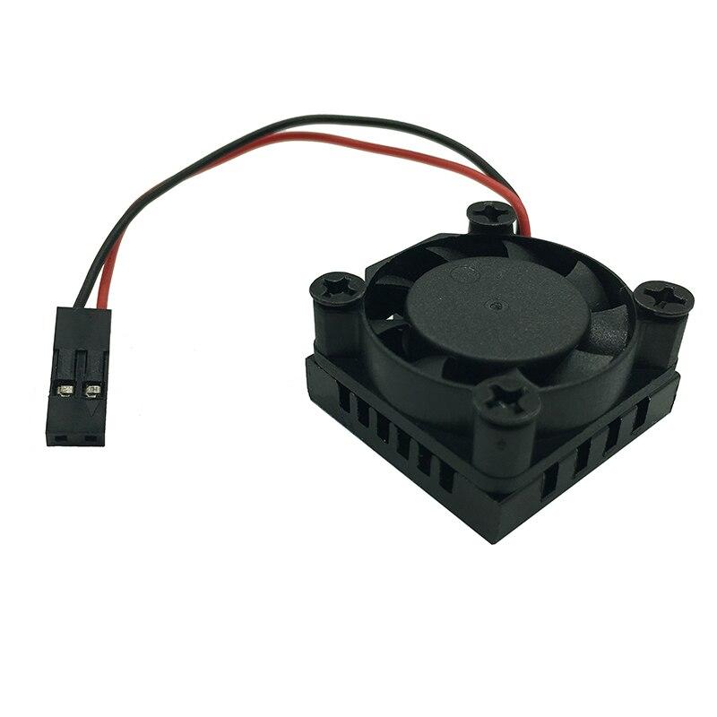Raspberry-Pie-3B-Fan-heatsink-Suite-module-with-blue-heatsink-sticker-25-25-13mm (3)