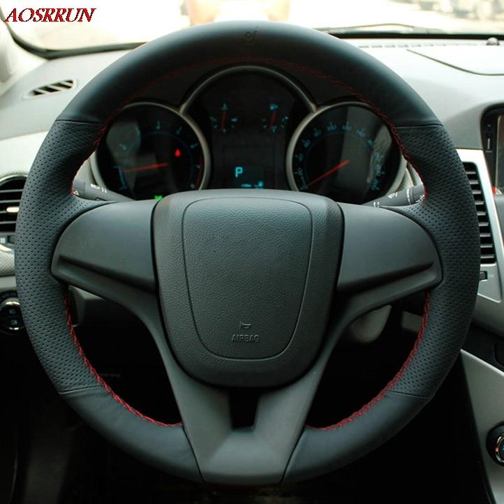 Sew-on autovehicul de piele de volan piele volan accesorii pentru - Accesorii interioare auto