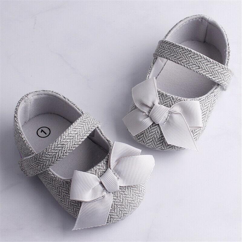 Туфли Emmababy для маленьких девочек, Нескользящие, на мягкой подошве, с застежкой-крючком, обувь для начинающих ходить, для маленьких девочек ...