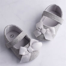 Emmababy Infant Baby Girl Shoes Bowknot Anti-Slip Soft Sole