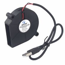 Вентилятор бесщеточный gdstime 1 шт 60 х15 мм usb 5 В 6015 дюйма