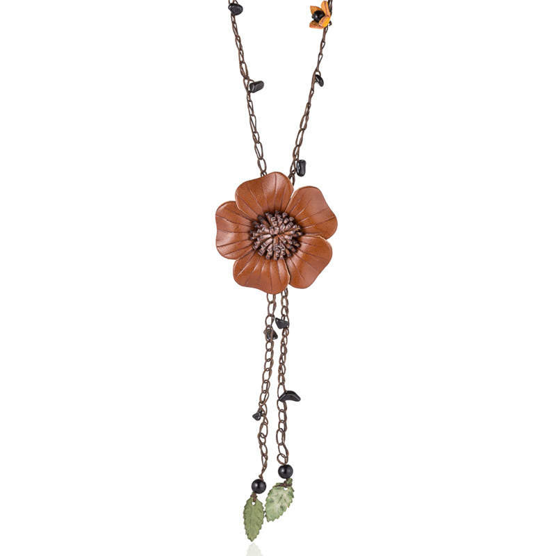 WNGMNGL-Bohemia-Leather-Flowers-Natural-Stone-Pendant-Necklace-for-Women-Girls-Chain-Strip-Fashion-Boho-Jewelry(2)