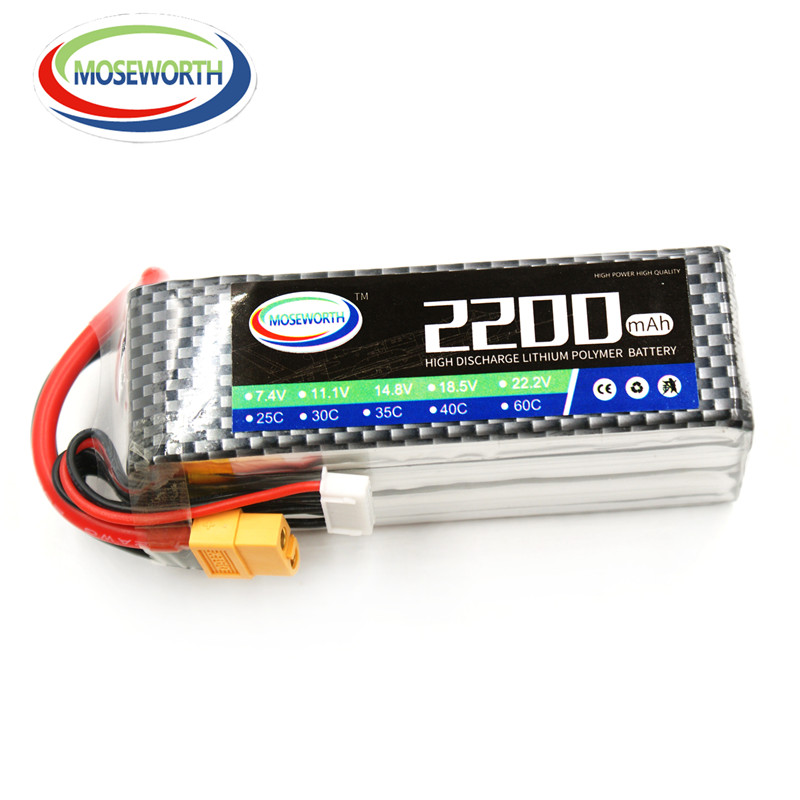 MOSEWORTH 6S RC Lipo Battery 22.2v 60C 2200mAh For RC Aircraft Quadcopter Cars Boat Airplane Helicopt Drones Li-polymer 6S AKKU 5pcs lot 20cm 20cm rc battery fastening tape for li po battery of rc quadcopter rc aircraft rc boat wholesale