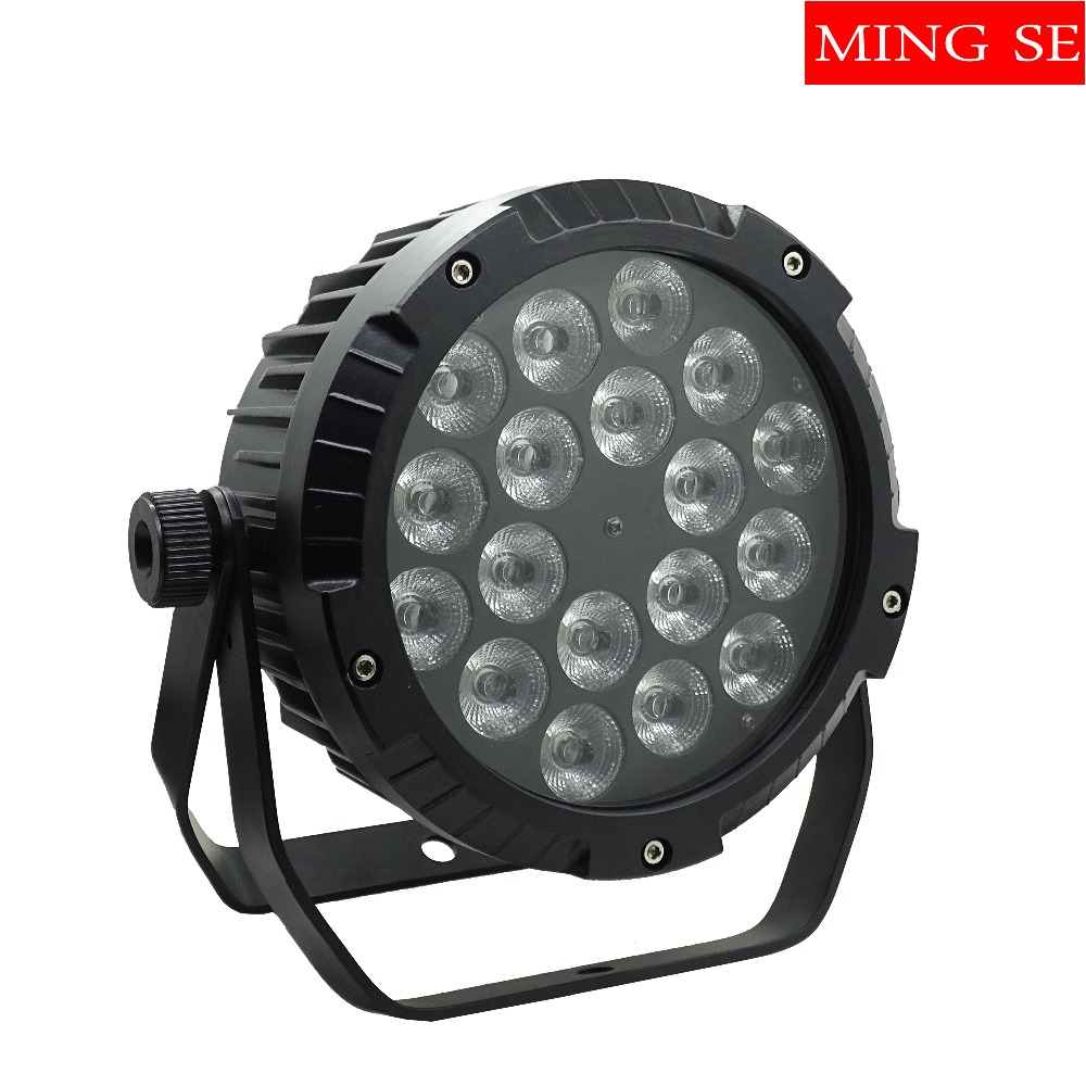 IP65 Waterproof Led Par Light 18x12W 4in1 , 18x15w 5in1 ,18x18w 6in1 DMX512 Control Professional Stage DJ Outdoor Stage Light