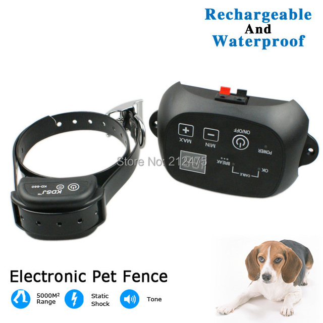 new underground invisible and waterproof electronic dog fence system outdoor electric shock pet dog fencing system