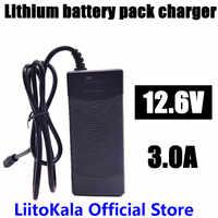 12.6V 3A power charger,12.6V charger for CCTV battery pack,3A charger for 12V lithium battery 12V 18650 charger battery pack