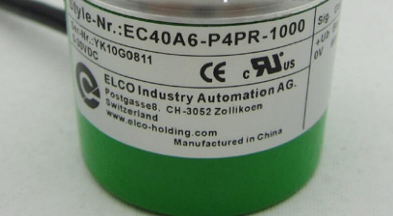 New EC40A6-P4PR-1000 Elco rotary encoder 1000P / R pulse eb50b8 p4pr 600 elco incremental encoder