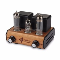 Douk Audio Mini Handmade 6P14 EL84 Vacuum Valve Tube Amplifier Stereo Single Ended Class A Desktop