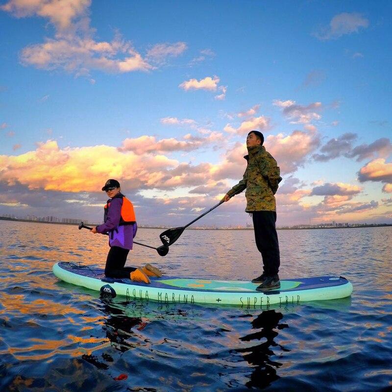 370*87*15 см aqua Marina супер путешествие надувной sup стоячего доска надувные surf доска для серфинга надувной каяк A01003
