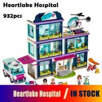Models Building Blocks Toy 01039 Friends Girls Heartlake Hospital Kids Bricks Diy Toy Set Girl Gifts