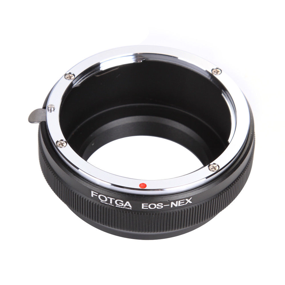 Image 2 - FOTGA Adapter Ring Camera Rings for Canon EOS EF Lens to Sony E Mount NEX 3 NEX 7 6 5N A7R II III A6300 A6500-in Lens Adapter from Consumer Electronics