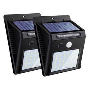 LED Solar Lamp Solar Garden Light Motion Sensor Waterproof Outdoor Lighting Decoration