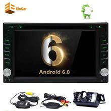 """Wireless Backup Camera+Android 6.0 Car DVD Player 6.2"""" Car Stereo In Dash GPS Navigation AM FM Radio/Bluetooth/WiFi/Mirror link"""