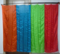 RainBow Silk Production (1.75*1.4m) Square Multi Color Flag Stage Magic Tricks Illusions Appearing Flag Magie Gimmick Props