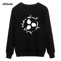Aikooki Naruto Capless Sweatshirt Men Women Cotton Classic Japanese Cartoon Anime Men S Hoodies Streetwear Casual