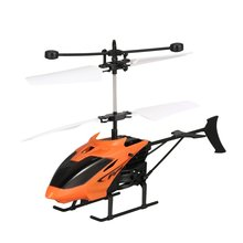 D715 Flying Mini Infrared Induction RC Helicopter Drone Remote Control Aircraft with LED Flashing light for Kids Toys Gift все цены