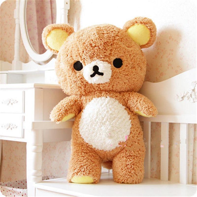 55cm Japanese Kawaii Cute San-x Rilakkuma Relax Bear Pillow ,Kids Rilakkuma Bear Birthday Gift,christmas Bear Toy