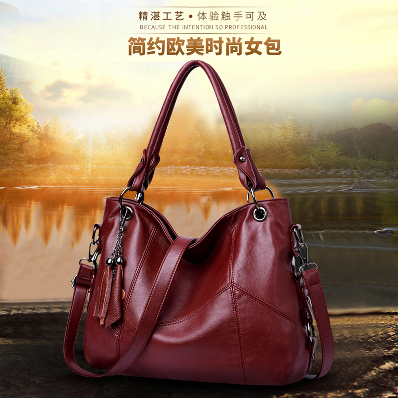 Ladies Hand Bags Sac Bolsa 2020 Vintage Style Women Handbags Leather Luxury Handbags Women Bags Designer Large Capacity Tote Bag