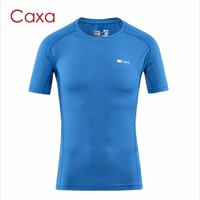 Caxa Men S Quick Dry Sport T Shirt Anti Sweat Soft Gym Fitness Shirt Sunscreen Outdoor
