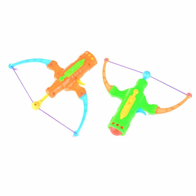 탁구 플라스틱 공 플라잉 디스크 슈팅 장난감 야외 스포츠 어린이 선물 slingshot 사냥 소년 장난감