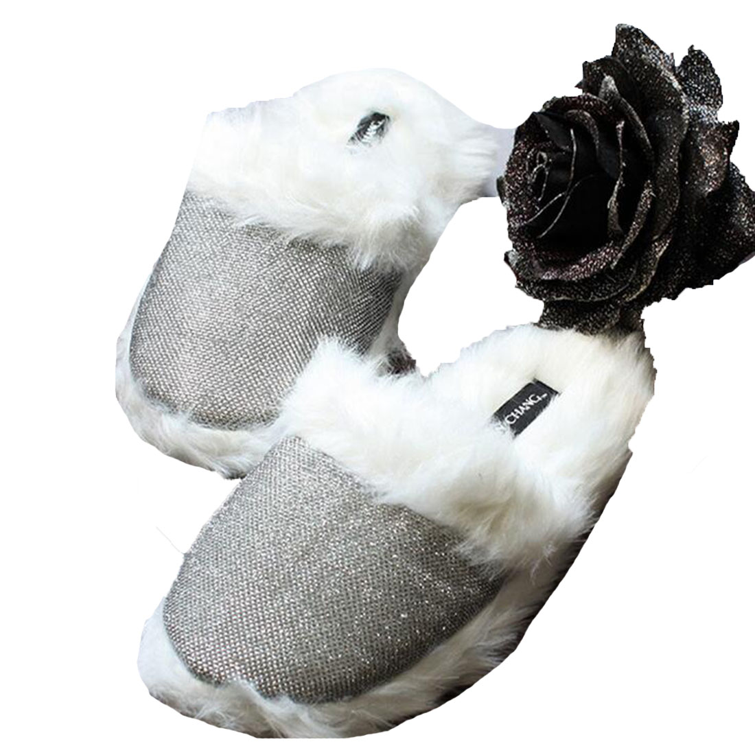 Winter Warm Thick Fur Home Slippers Women Men Couple Indoor Shoes Winter Slippers women winter